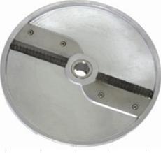 Диск для нарезки соломкой HU2.5 для нарезки овощей для овощерезки Rauder толщина нарезки 2.5 мм