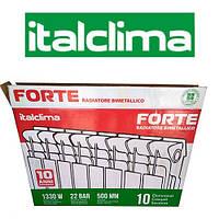 Биметаллический радиатор отопления ITALCLIMA FORTE 500*96 BM CTANDART CLASS