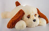 Плюшевая Собака Тузик 65 см персиковый