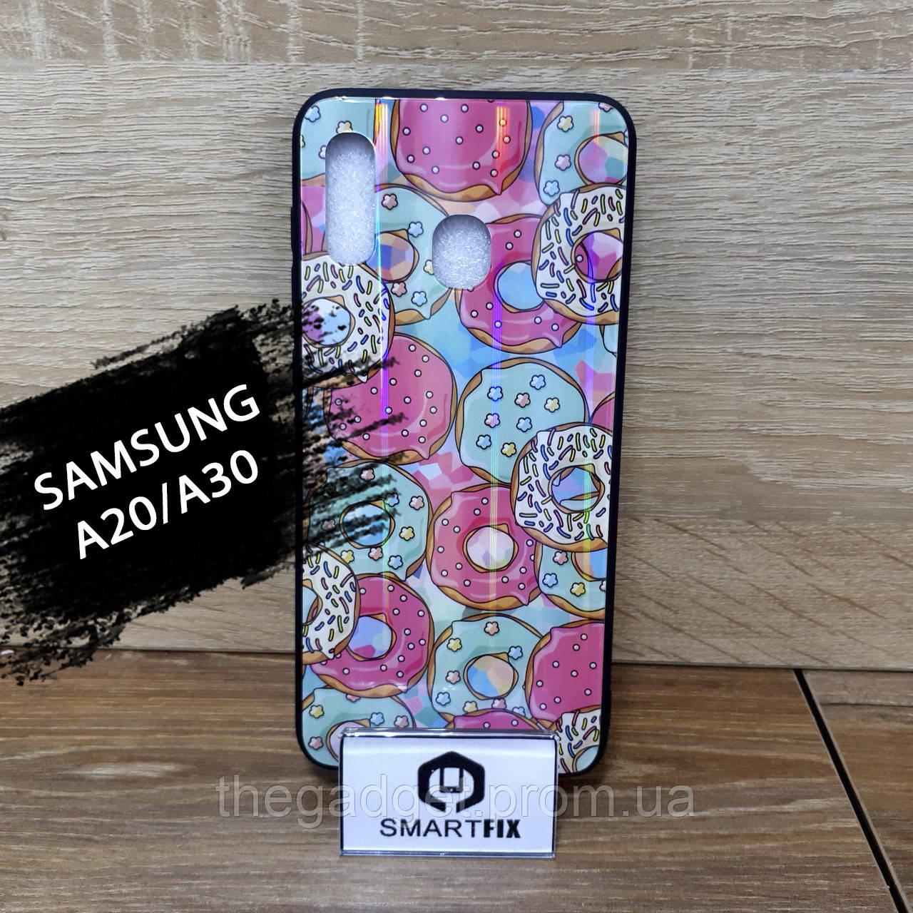 Чехол с рисунком для Samsung A20/A30
