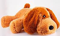 Мягкая игрушка собака 75 см медовый