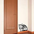 Наклейка на стіну Сонна кішка, фото 2
