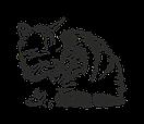 Наклейка на стіну Сонна кішка, фото 4