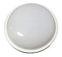 Влагозащищенный LED светильник для ЖКХ круг 20W 6000K IP54 LU-WR-20C (218*70мм) ТМ LUMANO, фото 1