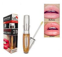 Блеск для губ имбирный для увеличения Ministar Lip Extreme 3D