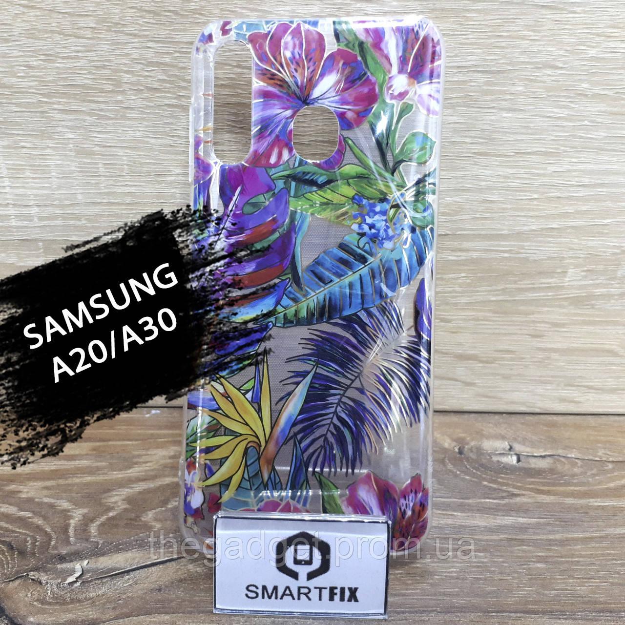 Чохол з малюнком для Samsung A20/A30