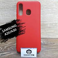 Силиконовый чехол для Samsung A20/A30, фото 1