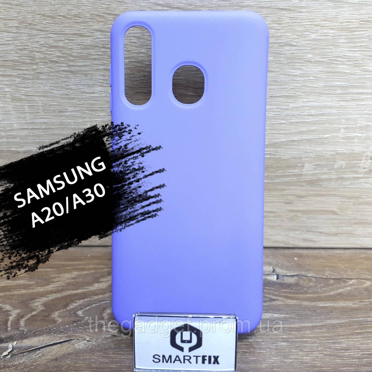 Силиконовый чехол для Samsung A20/A30