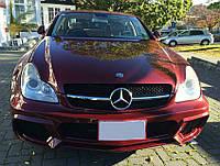 Аэродинамический обвес Wald на Mercedes CLS W219