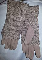 Перчатки женские кашемировые