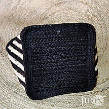 Корзина джутовая квадратная, фото 3