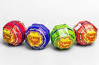 Чупс Crazy Chups 50г с игрушкой-сюрпризом и конфетами для девочки/мальчика, 4 шт.