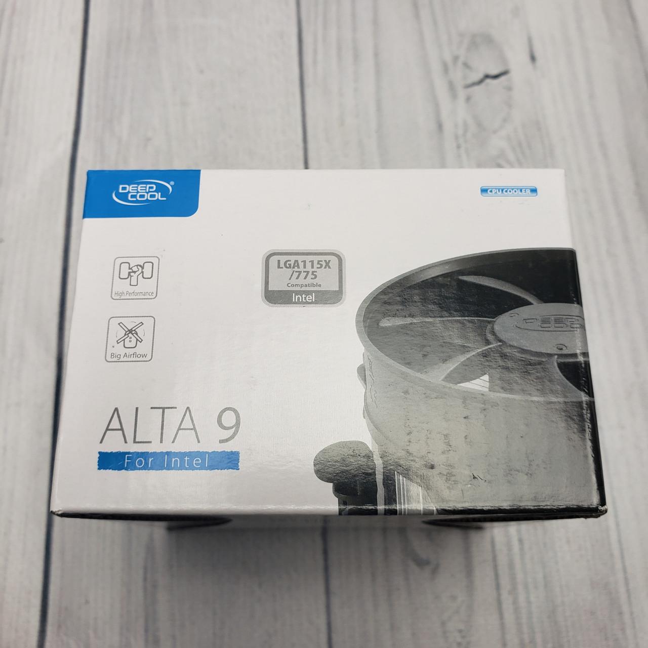 Охлаждение DeepCool Alta 9