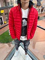 Мужская красная куртка PLS 8, фото 1