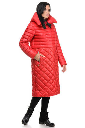Пальто «Полли», 44-50, арт.261 красный, фото 2