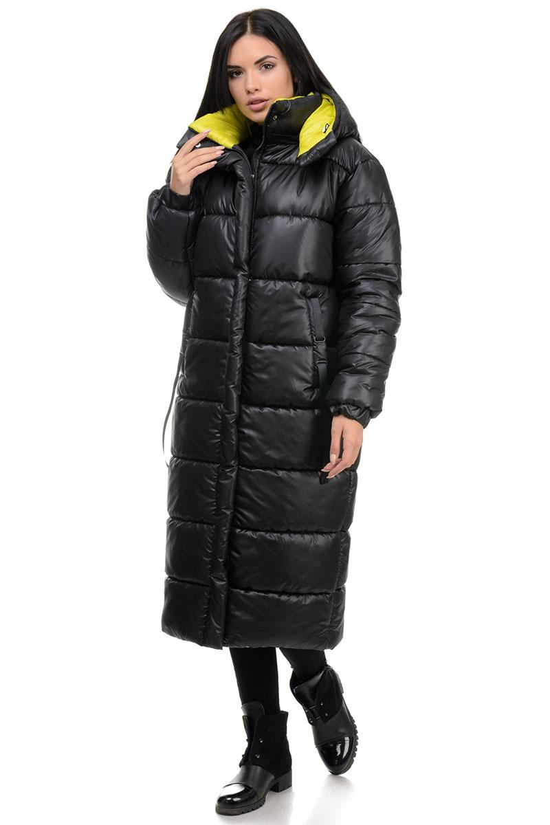 Пальто «Валенсия», 44-50, арт.262 черный