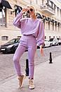 Брючний костюм - двійка, штани і кофта вільного фасону (р. 42-48) 50ks1457, фото 3
