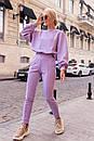 Брючний костюм - двійка, штани і кофта вільного фасону (р. 42-48) 50ks1457, фото 4
