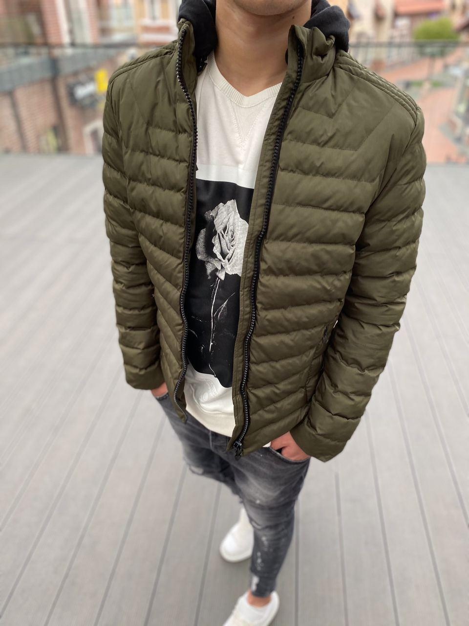 Мужская куртка хаки PLS 9