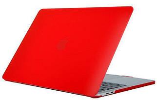 Чехол STR Matte Hard Shell Case for MacBook Pro 16 (2019-2020) - Red