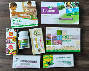Антигельминтные, противопаразитарные препараты
