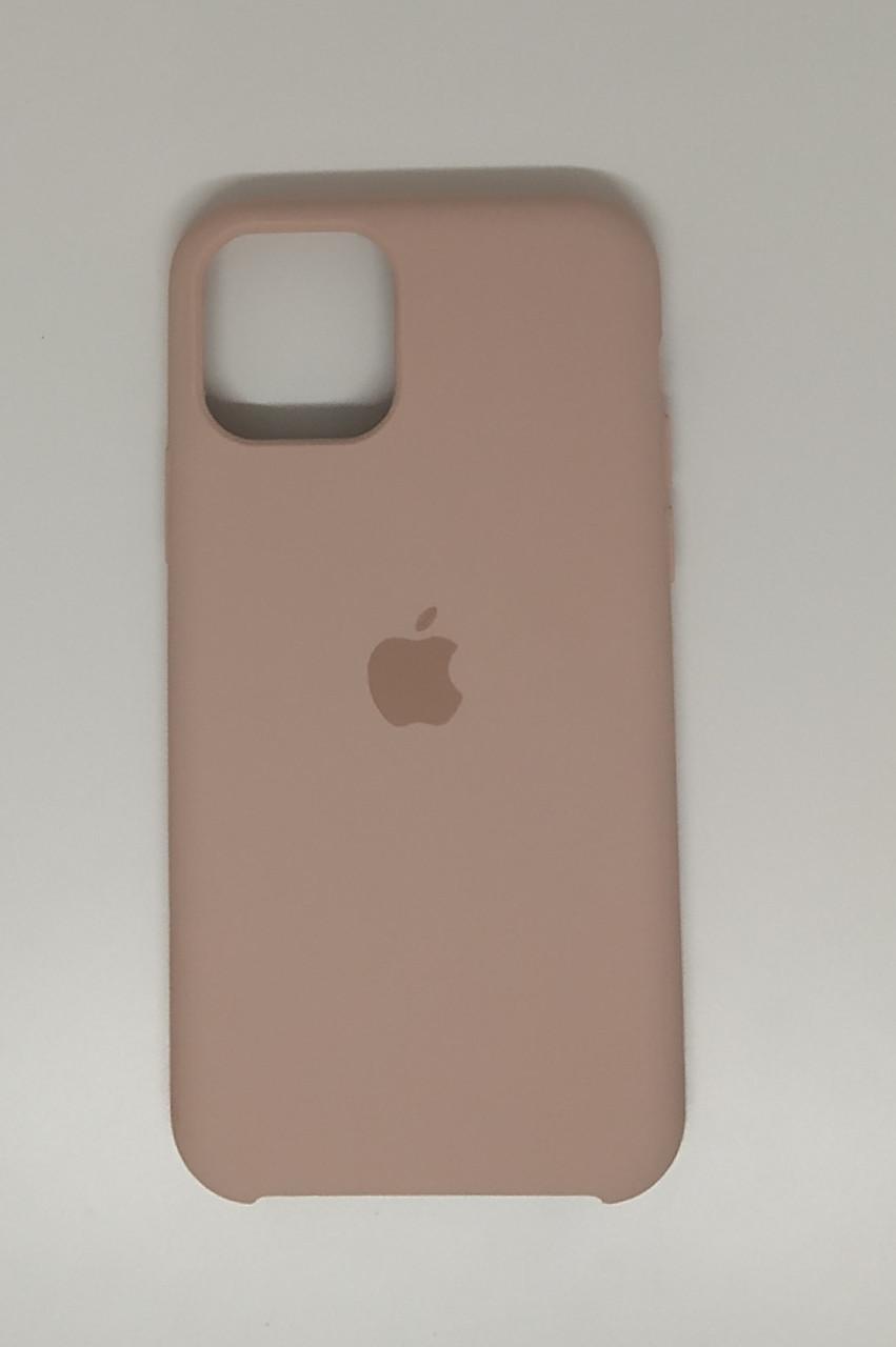 """Чехол Silicon iPhone 12 Pro Max - """"Пудра №19"""""""