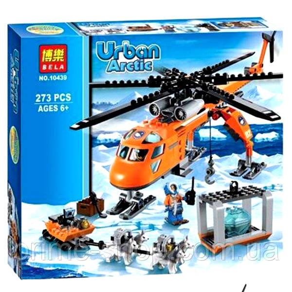 Конструктор Bela Urban Вертолет Arctic 10439 273 детали, в коробке