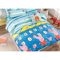 Комплект постельного белья подростковый Вилюта Сатин Twill 236