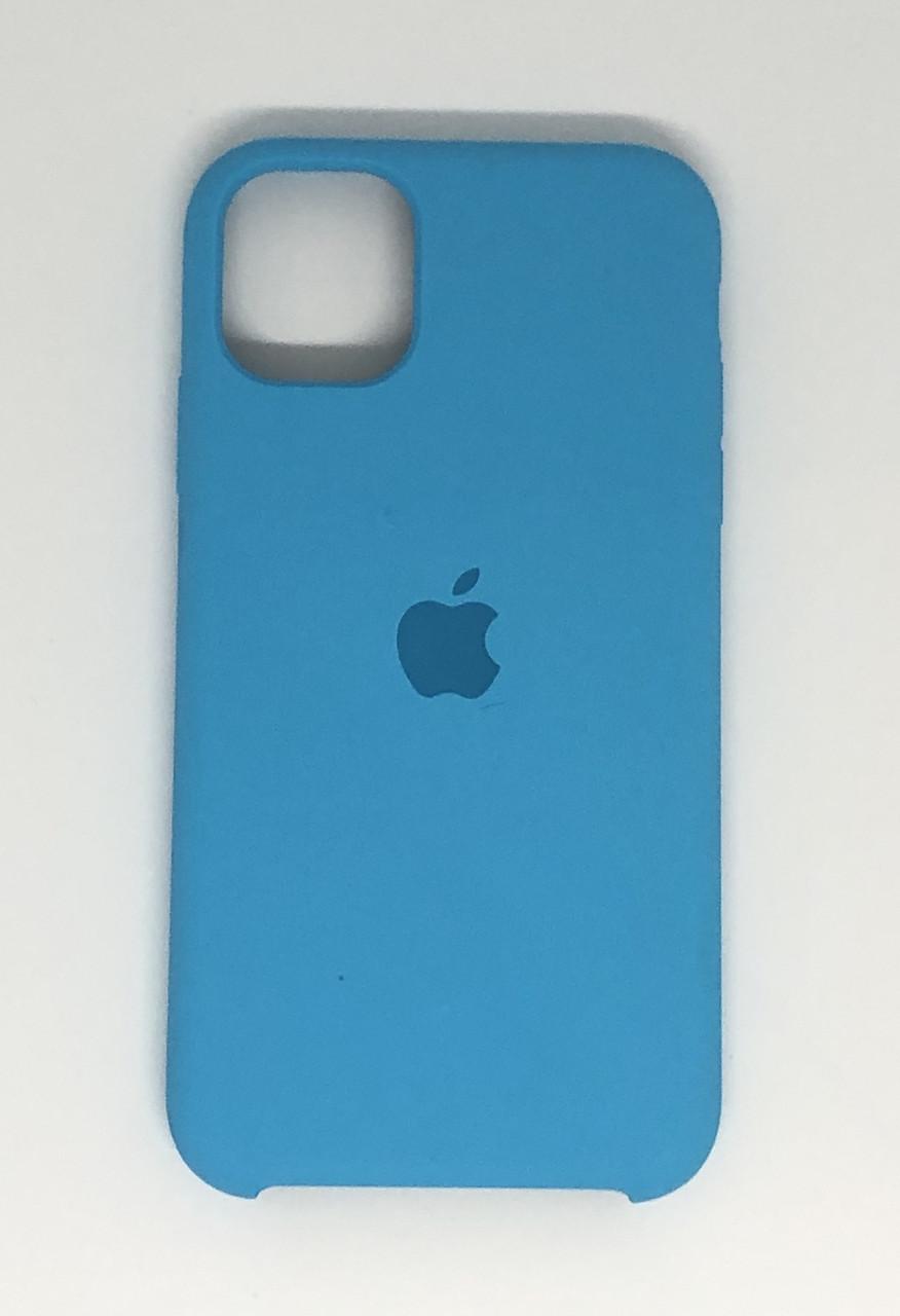 """Чехол Silicon iPhone 12 Pro Max - """"Голубой №16"""""""