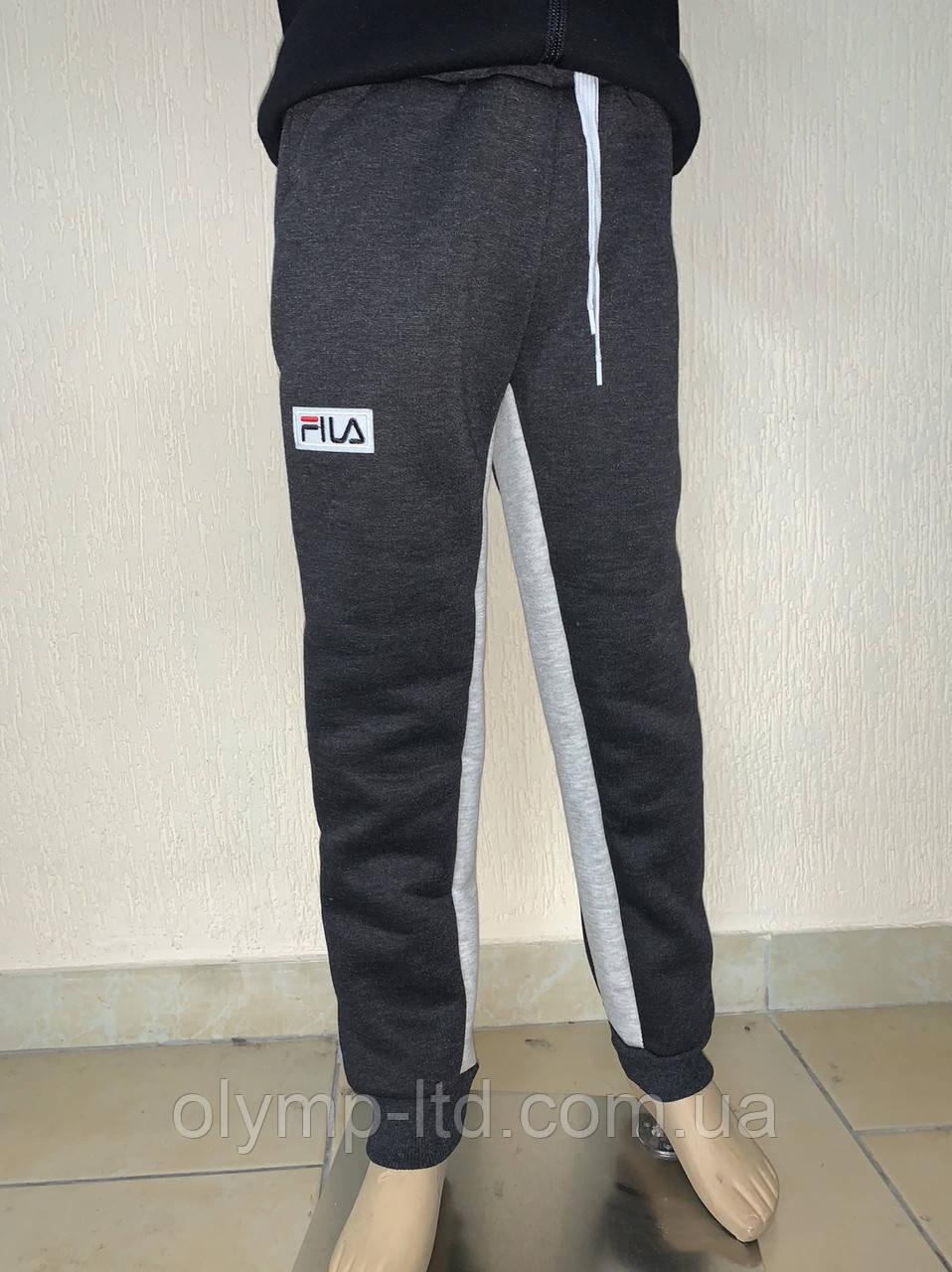 Штаны для мальчика подростка 36-44р-р плотная трех нить,нашивка шнурок.