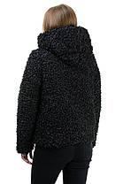 Шуба «Карен», 44-48, арт.272 черный, фото 2