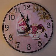 Модные настенные часы (34 см.)