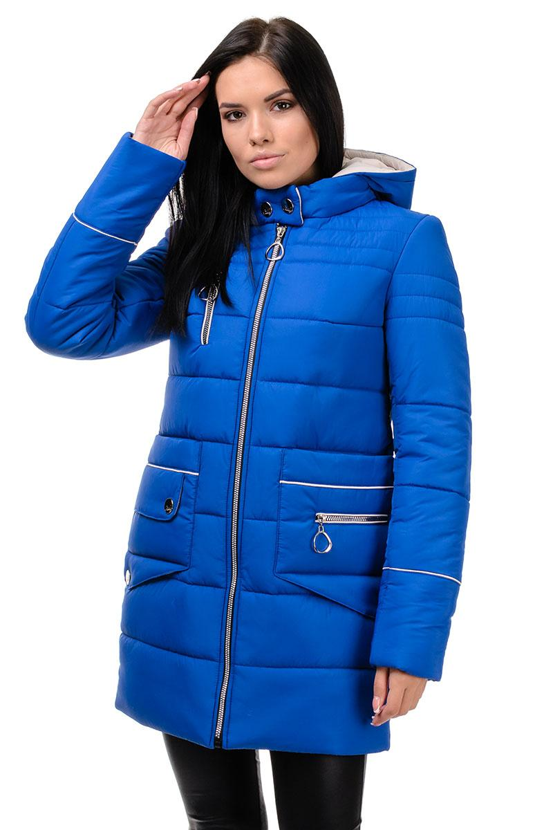 Зимняя куртка «Пэм», 42-48, арт.248 электрик