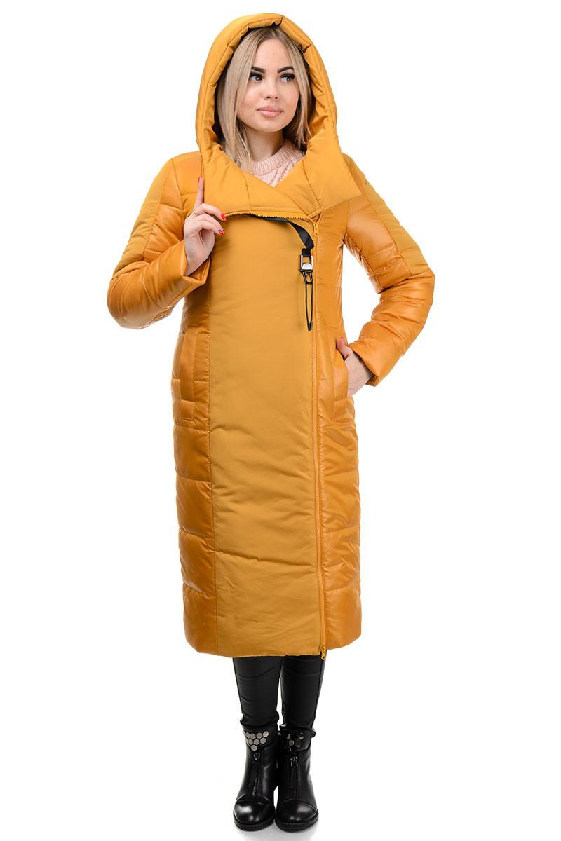 Пальто «Сара», 44-52, арт.276 горчица