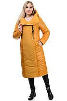 Пальто «Сара», 44-52, арт.276 горчица, фото 3