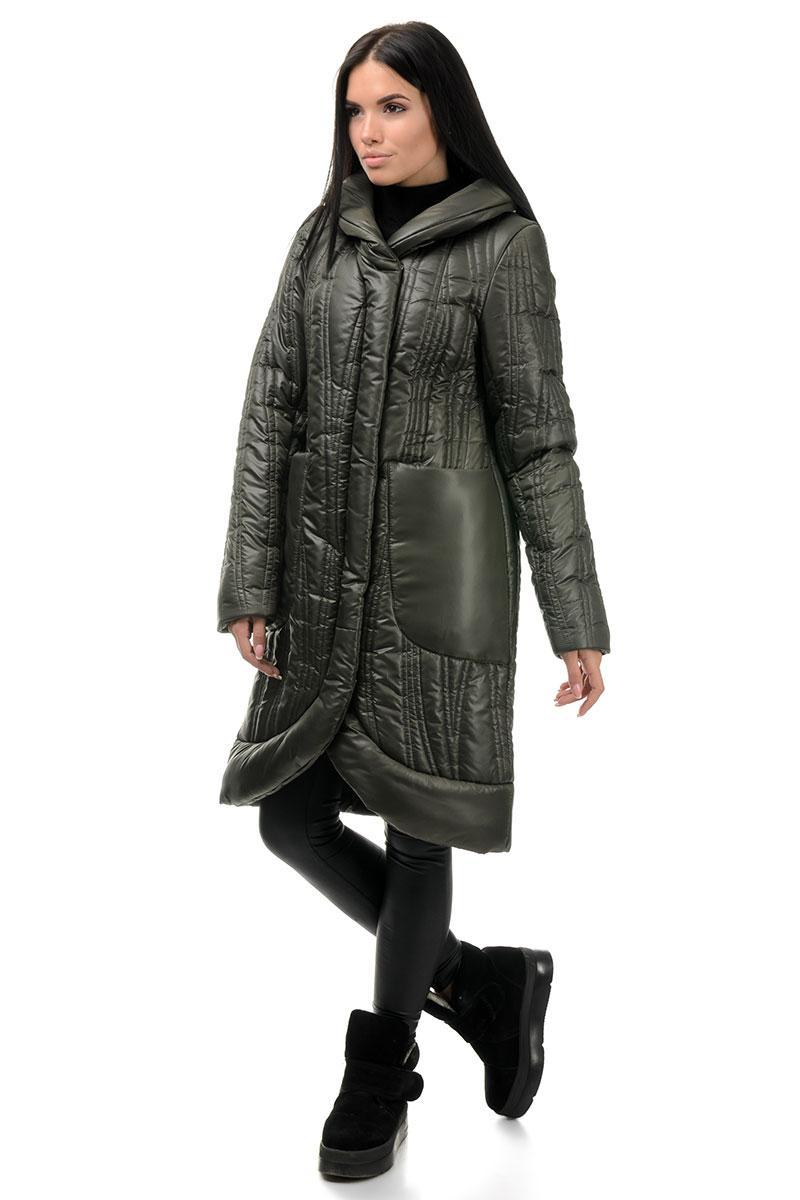 Пальто «Виола», 44-50, арт.256 хаки