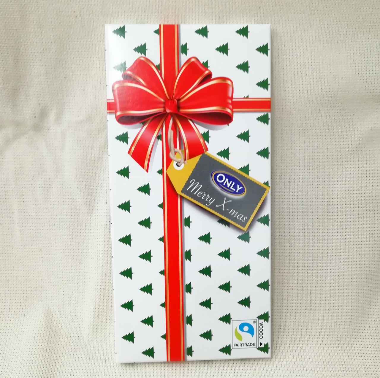 Шоколадка Only новогодняя