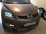 НАШИ РАБОТЫ: Mazda CX-7 тонировка оптики, полировка фар