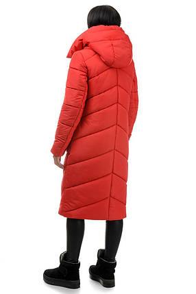Пальто «Тильда», 44-50, арт.258 красный, фото 2