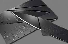 Нож-кредитка подарочный складной Cardsharp (кардшарп)