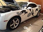 НАШИ РАБОТЫ: Работа над Chevrolet Camaro 2