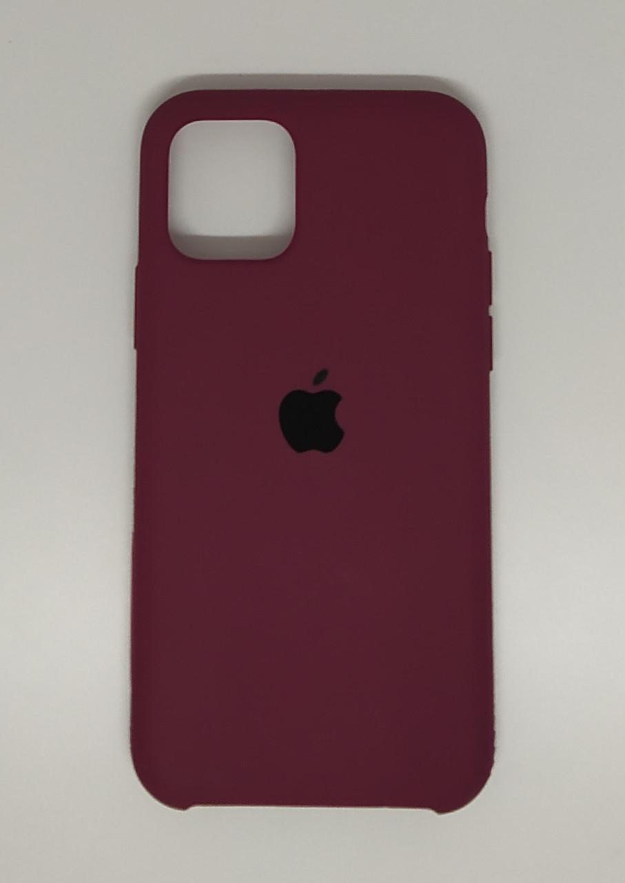 """Чехол Silicon iPhone 12 Mini - """"Марсала №52"""""""