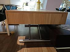 Стол-трансформер Палермо-1 (B2391-1) Exm столешница цвет сонома/ноги капучино, фото 3