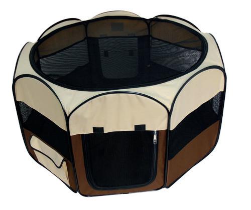 Сумка-манеж для тварин 92*92*49 см Croci Fence Fast&Easy