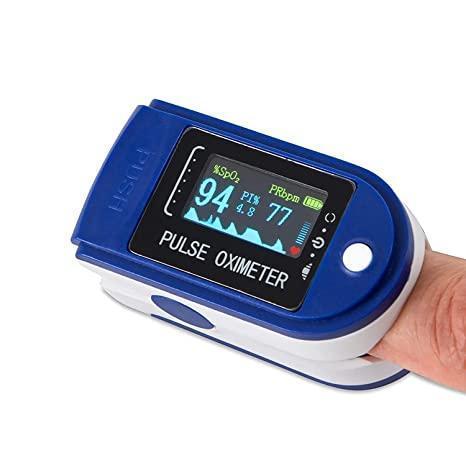 Пульсоксиметр с OLED экраном Lk 88