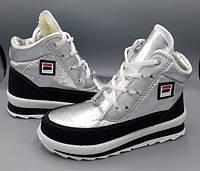 Женские зимние кроссовки BR-S высокие серебристые 39 р. - 24 см 1279299797