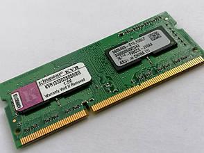 Оперативная память Kingston SODIMM  DDR3-1333, 2GB, PC3-10600 - KVR1333D3S8S9/2G, фото 2