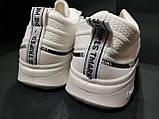 Кроссовки серые, белые, фото 5