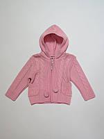 Тёплая детская кофта для девочек 86р