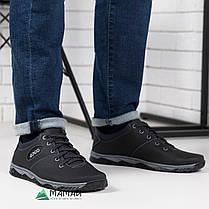 Кроссовки мужские чорние, фото 2